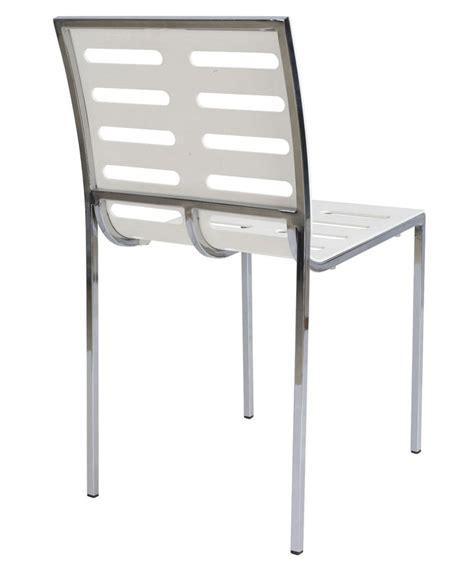 silla metalica apilable silla met 225 lica apilable carcasa abs color blanco modelo artic