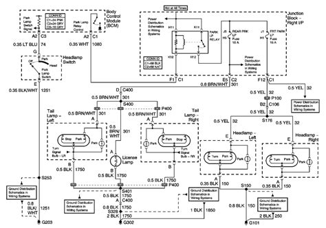 service manuals schematics 1999 chevrolet monte carlo parking system 98 monte carlo wiring diagram wiring diagram