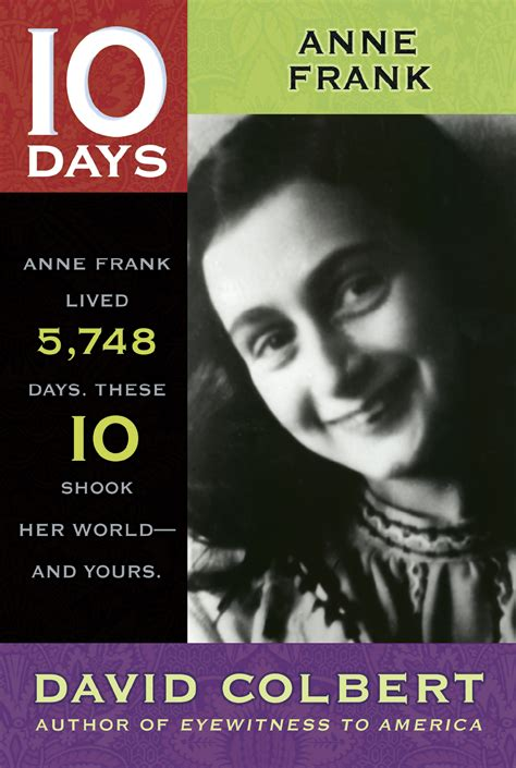 anne frank picture book biography anne frank book by david colbert official publisher