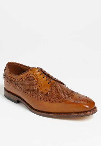shoes boca raton allen edmonds boca raton longwing in brown for walnut