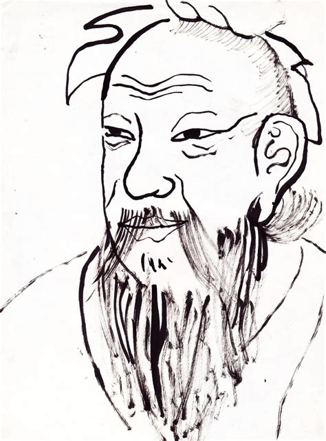 drawing of confucius by yastaka on deviantart