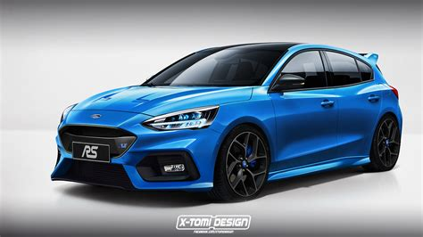 New Ford Focus St 2018 by New Ford Focus Rs Rendered Focus St Also Looks Mighty