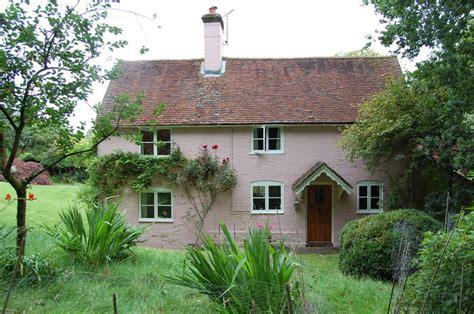 Pink Cottage by Pink Cottage At Highlands Farm Near 169 Julian P Guffogg