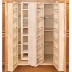 How To Make A Kitchen Pantry Cabinet Closet Amp Storage Unique Swing Out Complete Pantry System