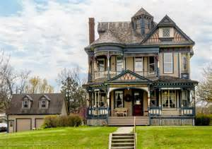 Queen Anne Victorian by Gallery Queen Anne Victorian Home Plans