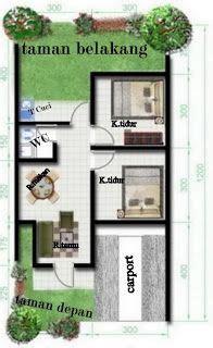 design interior rumah type 45 72 denah rumah type 36 minimalis ide buat rumah pinterest