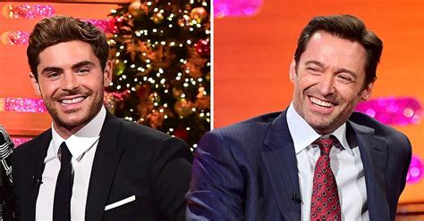 zac efron and hugh jackman zac efron nearly died when hugh jackman took him out
