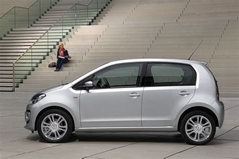 volkswagen side 2012 silver volkswagen up four door side eurocar