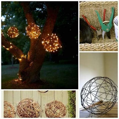 Diy Outdoor Lights 17 Interesting Diy Backyard Projects For This