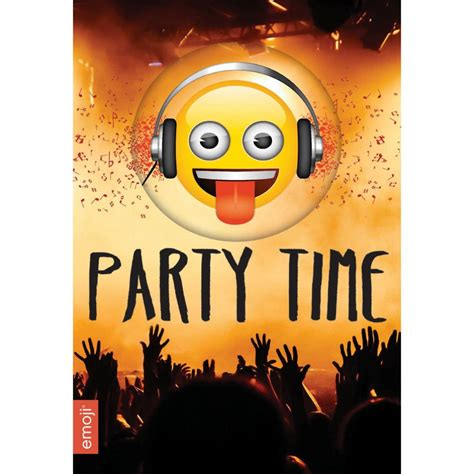Party Time Emoji Card (241631)   Character Brands