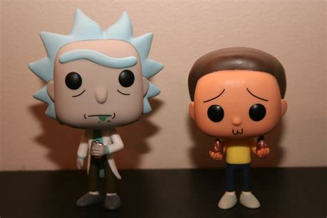 Pop And Pop Pop review rick and morty pop vinyl plastic and plush