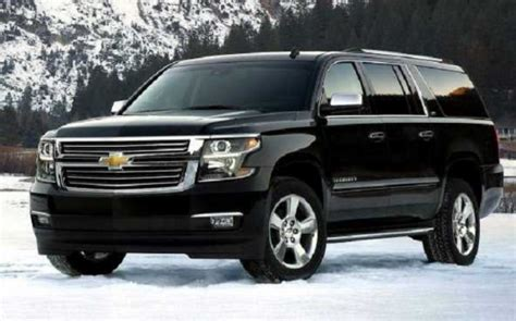 chevy suburban 2018 2018 chevrolet suburban will come refreshed auto redesign