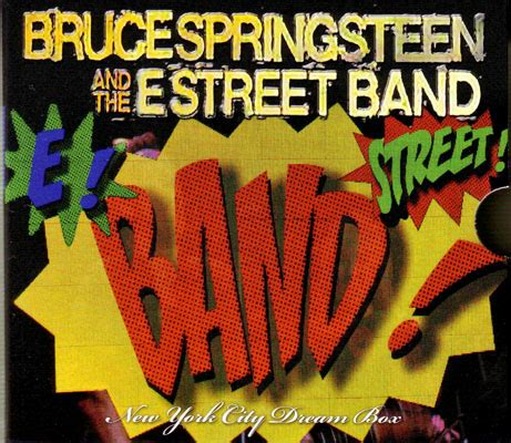 New York City Records Italian Bruce Springsteen New York City Box Cat Records Cc 959 64