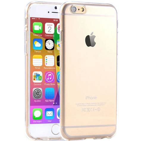Slicoo Clear Apple Iphone 6 Rubber Ultra Fit Thin Back Hitam i6 i7 6s clear tpu for iphone 6 6s plus 7 7 plus slim back