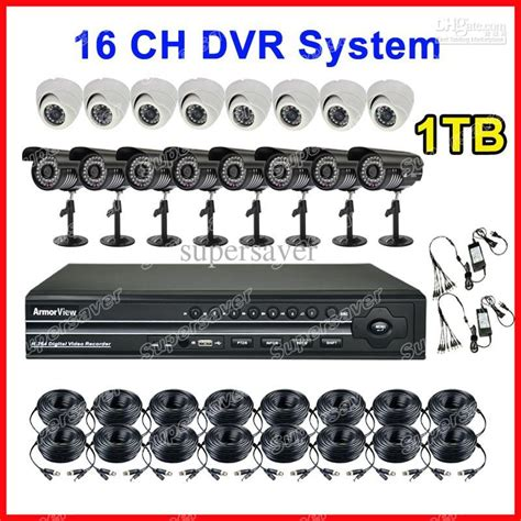 Cctv Dome Outdor Black Infrared Avicom 16 Ch Hd 2000gb 1 dhl free 16ch channel cctv dvr system home surveillance dvr recorder 1 3 inch ccd 1t