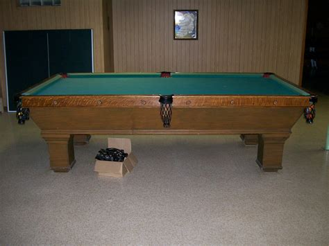 brunswick monarch pool table billiards forum identity of table