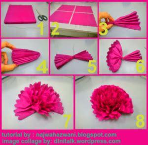 tutorial bunga rose kertas membuat topiary bunga pomander balls dengan kertas