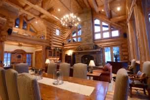 amazing log homes interior interior log home open floor