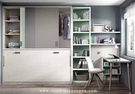 habitaciones juveniles camas abatibles dormitorios juveniles con camas abatibles para aprovechar