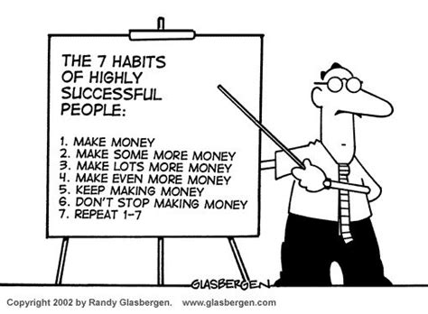 7 Habits To Form Now by Budget Randy Glasbergen Today S Aimexpo And