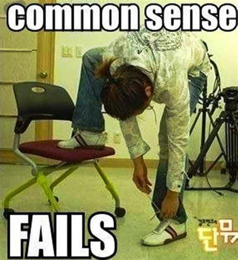 Common Sense Meme - common sense fails funny pic whatsapp funny pics