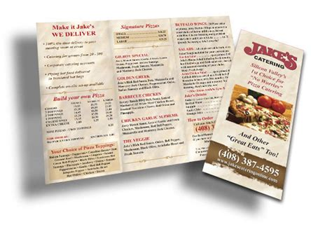 resaturant menu design sles
