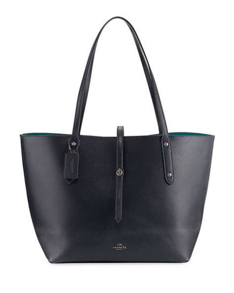 Coach Pabbled Leather Tote coach market pebbled leather tote bag