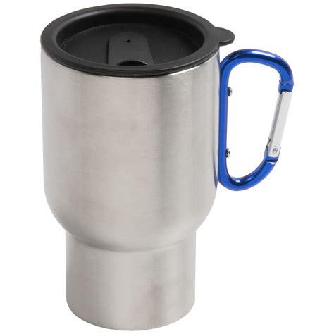 Gelas Carabiner Wall Cangkir Stainless Mug Travel jacob bromwell carabiner travel mug bpa free stainless steel 14 fl oz 8145p save 40
