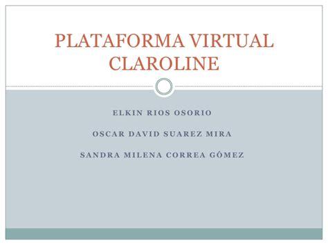 plataforma virtual plataforma virtual claroline