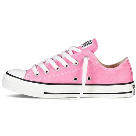 Converse All Pink converse converse all ox pink n80 m9007c unisex trainers converse from brands uk uk