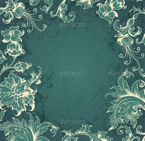 victorian themes for powerpoint green victorian background graphicriver