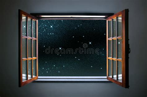 room to room archives swordfights and starry nights starry window stock image image 33422991