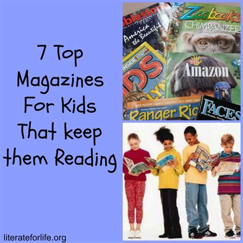 7 Great Magazines For by Literate For 7 Top Magazines For That Keep