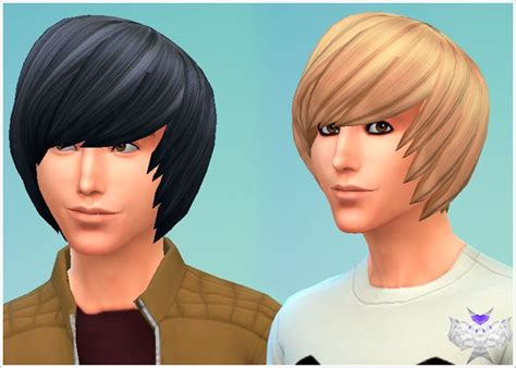 emo hairstyles for adults my sims 4 blog david sims emo hair for males my sims 4
