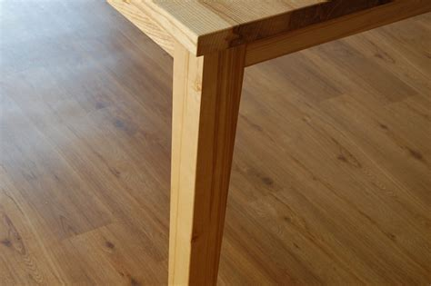 Handmade Contemporary Furniture - handmade contemporary table in flamed ash quercus furniture