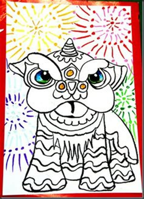 how to draw a new year asian on new years and