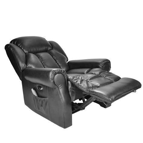 electric massage couch second hand hainworth leather reclining powered electric recliner