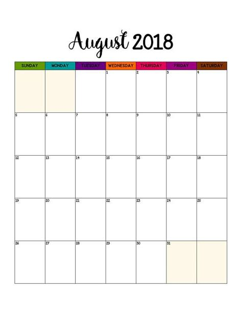 printable weekly calendar portrait 2018 monthly calendar printable portrait wall calendar