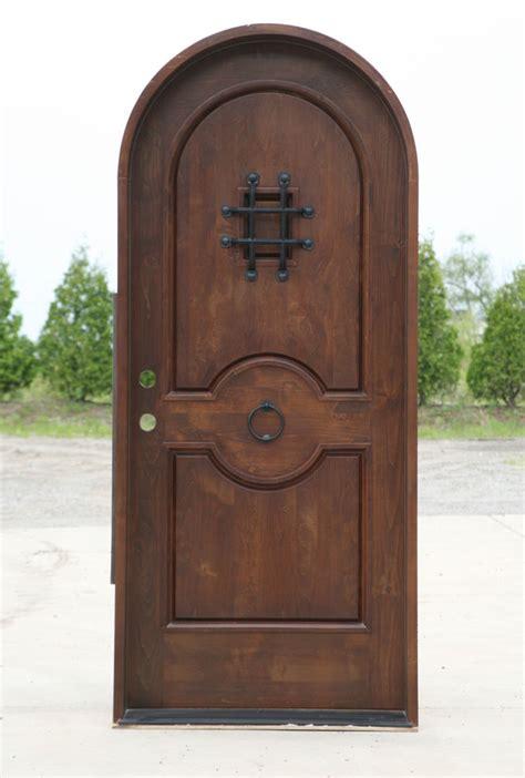 top exterior doors arch top exterior doors knotty alder