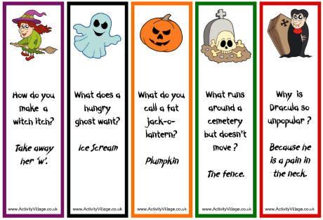 printable short jokes just for fun halloween edition zpro press