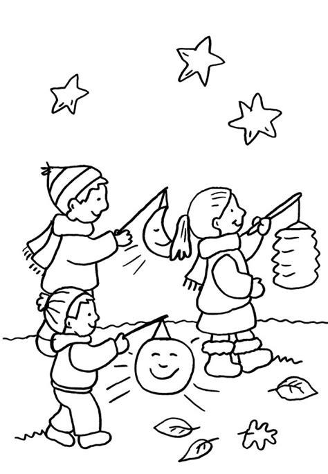 imagenes para colorear y describir imprimir ni 241 os con linterna bajo las estrellas dibujo