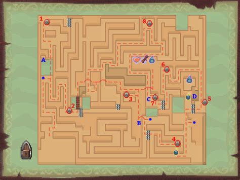 legend of zelda map maze phantom hourglass maze island