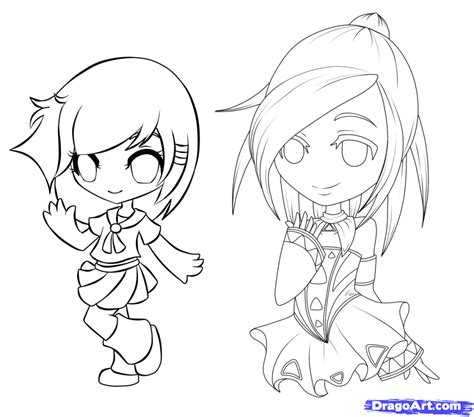anime chibi how to draw chibi manga step by step chibis draw chibi