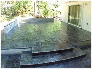 stain concrete patio stained concrete patio for the home