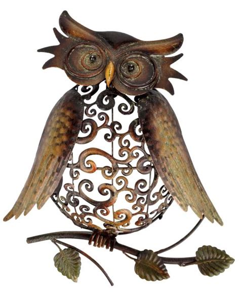 Metal Owl Decor by 50 Owl Decorating Ideas For Your Home Ultimate Home Ideas