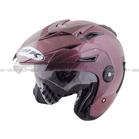 Helm Ink Solid jual ink t1 solid purple bk helm open