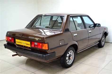 Water Toyota Corolla Gl Corona Gl Great Corolla kidney anyone 12 000 mile 1982 toyota corolla japanese nostalgic car