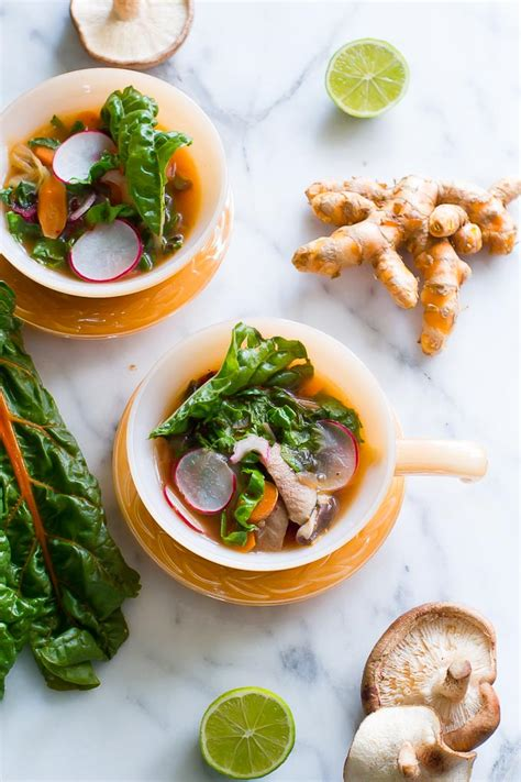 Cold Detox Soup by Shiitake And Chard Detox Soup Plant Craft