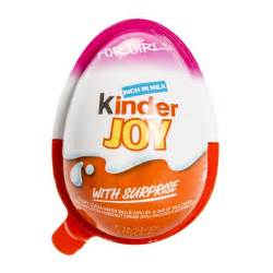 kinder joy for girls with surprise 20g woolworths co za