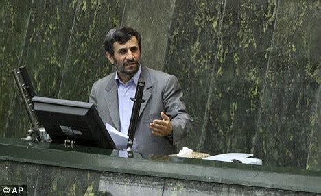 iranian president mahmoud ahmadinejad speaks at the parliament in male models picture